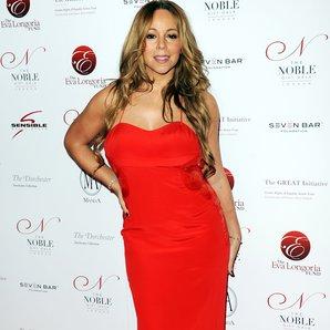 Mariah Carey on the red carpet