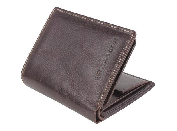 Jekyll Hide Oxford Bi Fold wallet in Coffee, £52