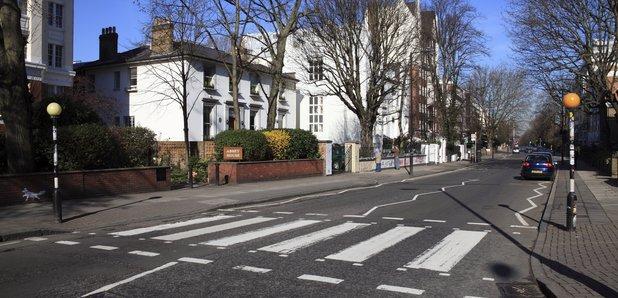 Abbey Road zebra crossing Beatles