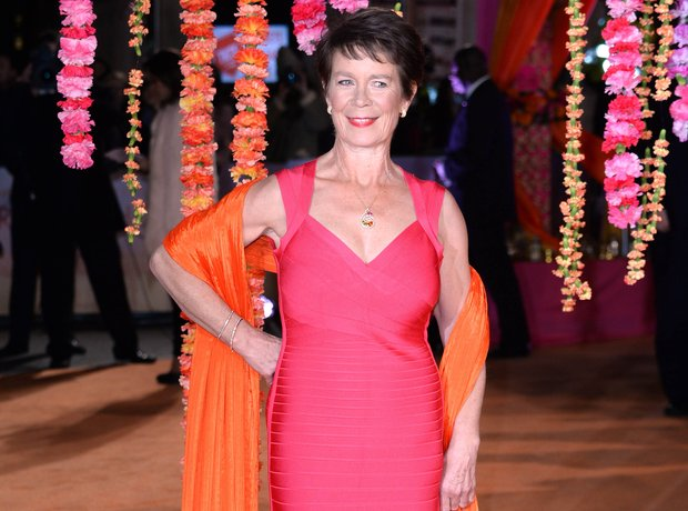 Celia Imrie attending the UK film premiere of The
