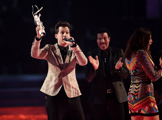 Mark Ronson BRIT Awards 2015