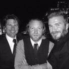 David Beckham, Tom Cruise and Guy Ritchie
