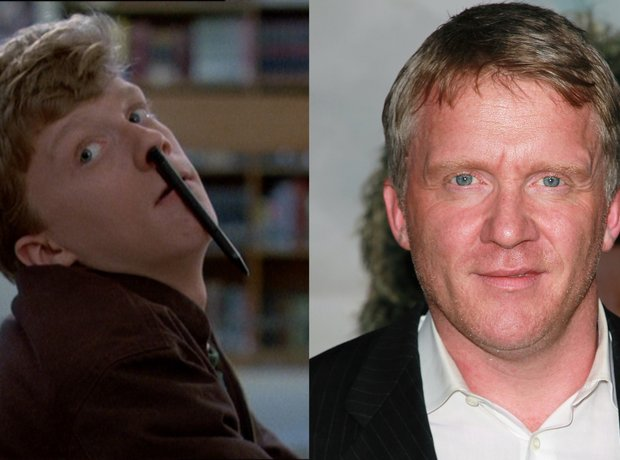 The Breakfast Club Cast - Then And Now