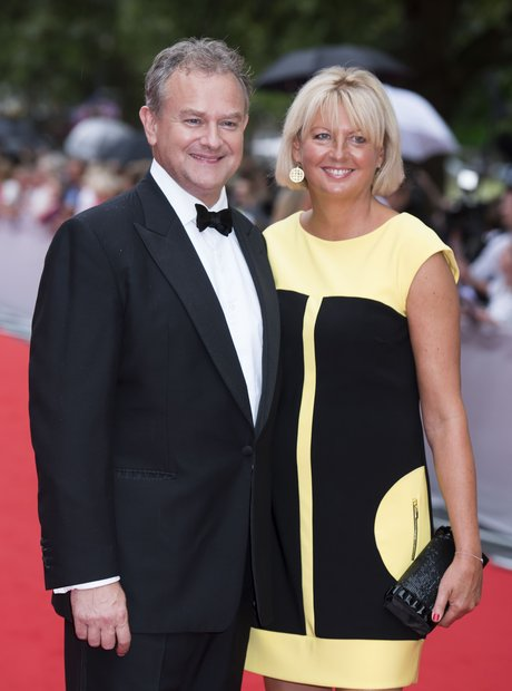 Hugh Bonneville and Lulu Wiliams