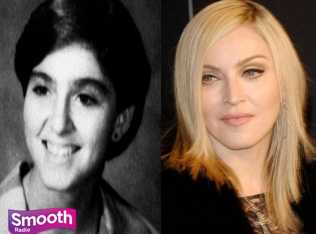 when they were young madonna