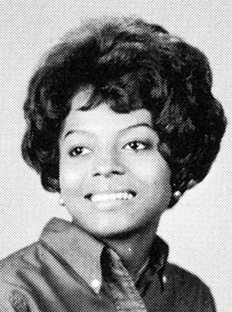 Yearbook Pictures with Diana Ross
