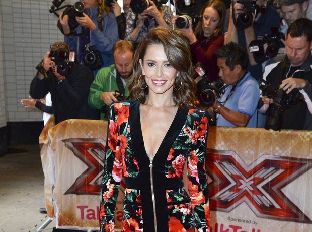 Cheryl Fernandez-Versini at X-Factro 2015 launch