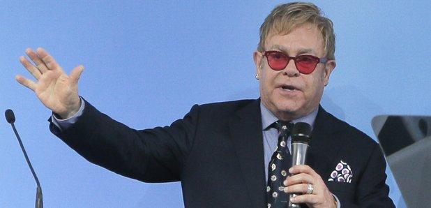 Elton John in Ukraine 2015