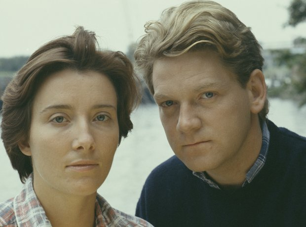 Emma Thompson and Kenneth Brannagh
