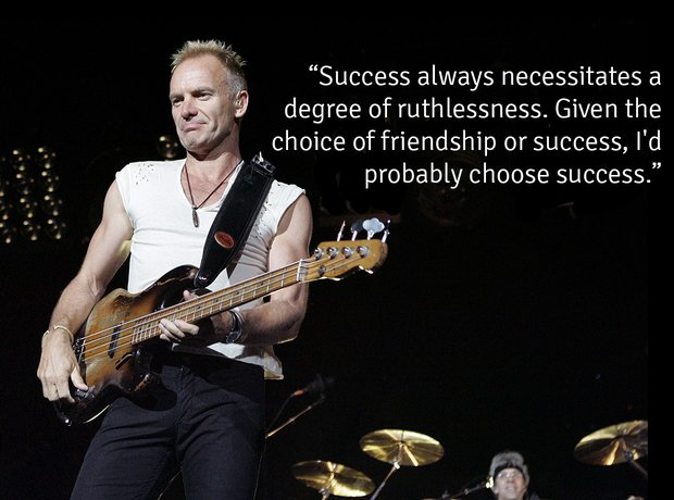 Sting's Greatest Quotes