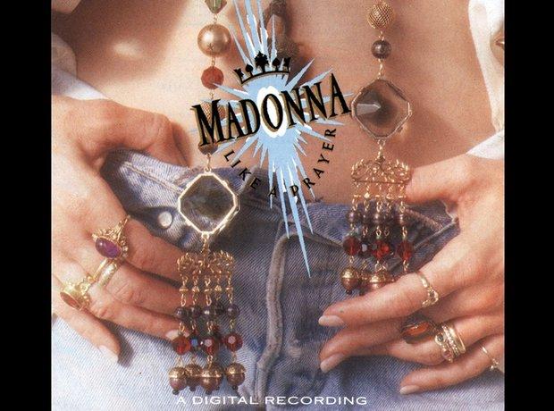 Madonna 80s album covers