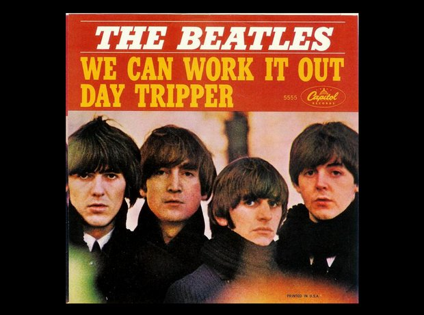 The Beatles Single Covers