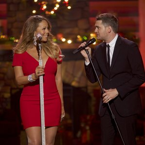 Mariah Carey Michael Buble's 3rd Annual Christmas