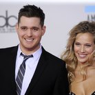 Buble and wife Lusiana Lopilato
