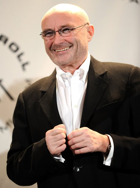 Phil Collins smile