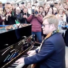 Elton John St Pancras Surprise