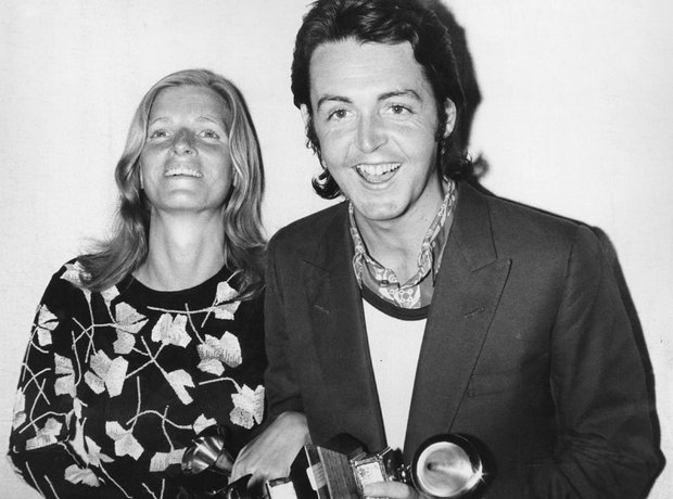 Couples Gallery Paul and Linda McCartney