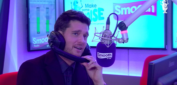 Michael Buble talks to Smooth