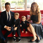 Michael Buble Mother's day pic