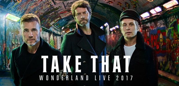Take That Wonderland tour 2017