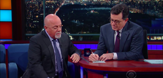 Billy Joel On The Late Show with Stephen Colbert