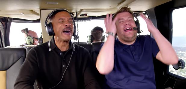 Will Smith and James Corden Carpool Karaoke Series