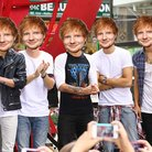 Ed Sheeran as a boyband