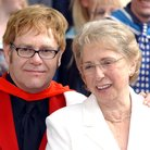 Elton John and mother Sheila